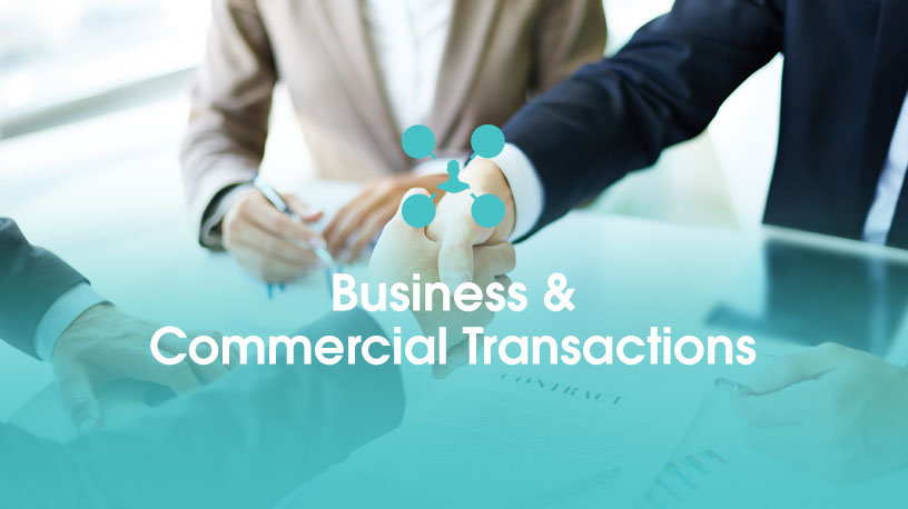 Business and Commercial Transactions