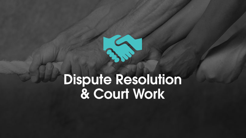 Dispute Resolution and Court Work