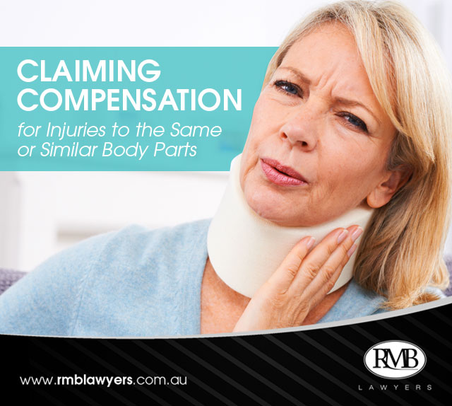 Claiming Compensation for Injuries to the Same or Similar Body Parts